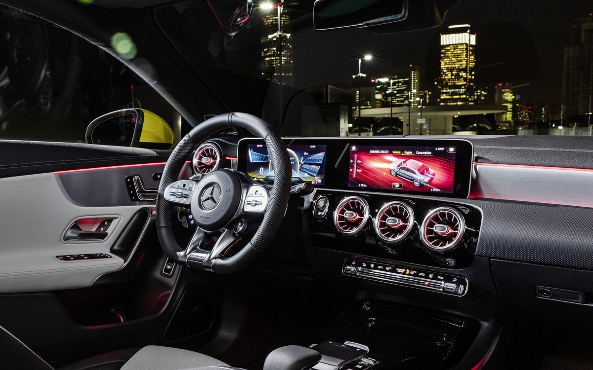 Gran estreno del Mercedes-AMG CLA 35 4Matic