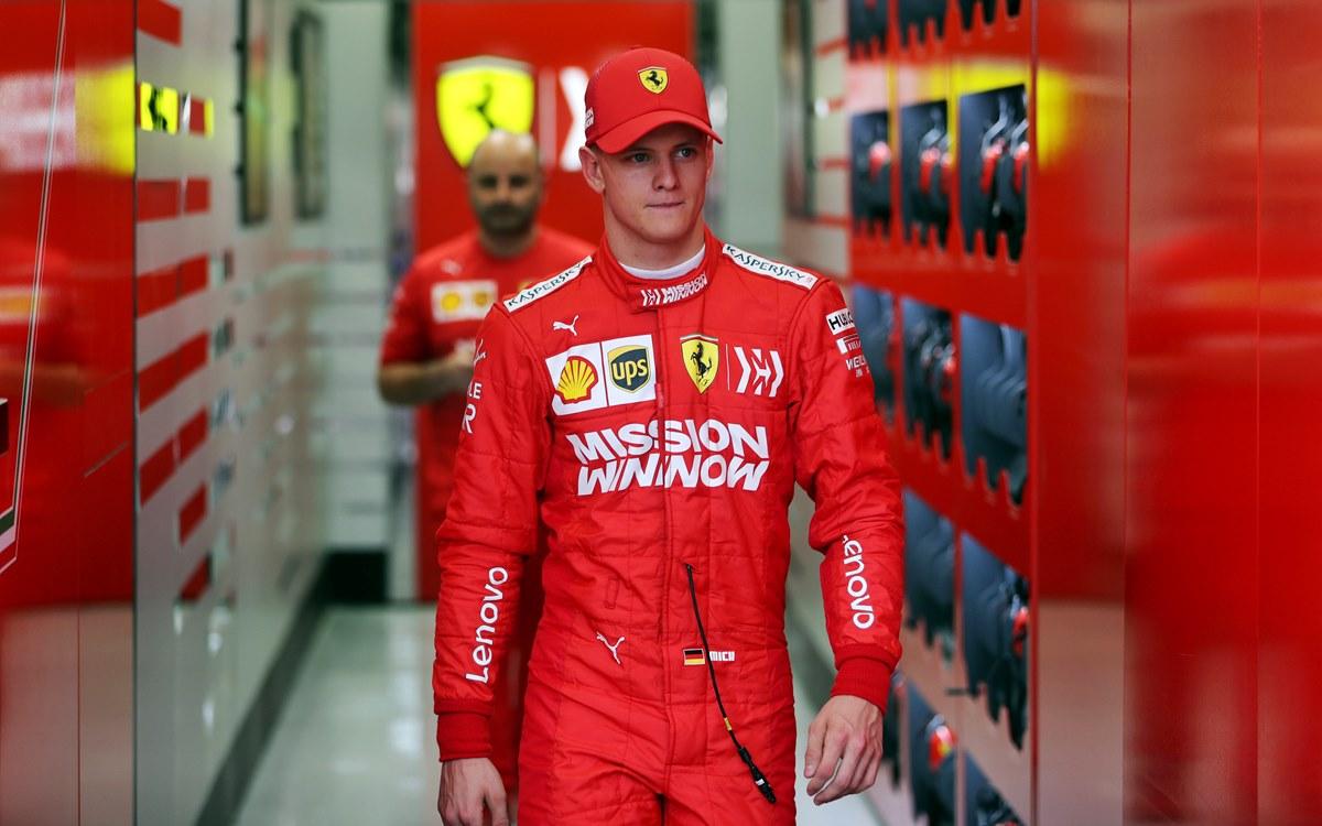 "Mick Schumacher: ""Me siento atraído por Ferrari"""