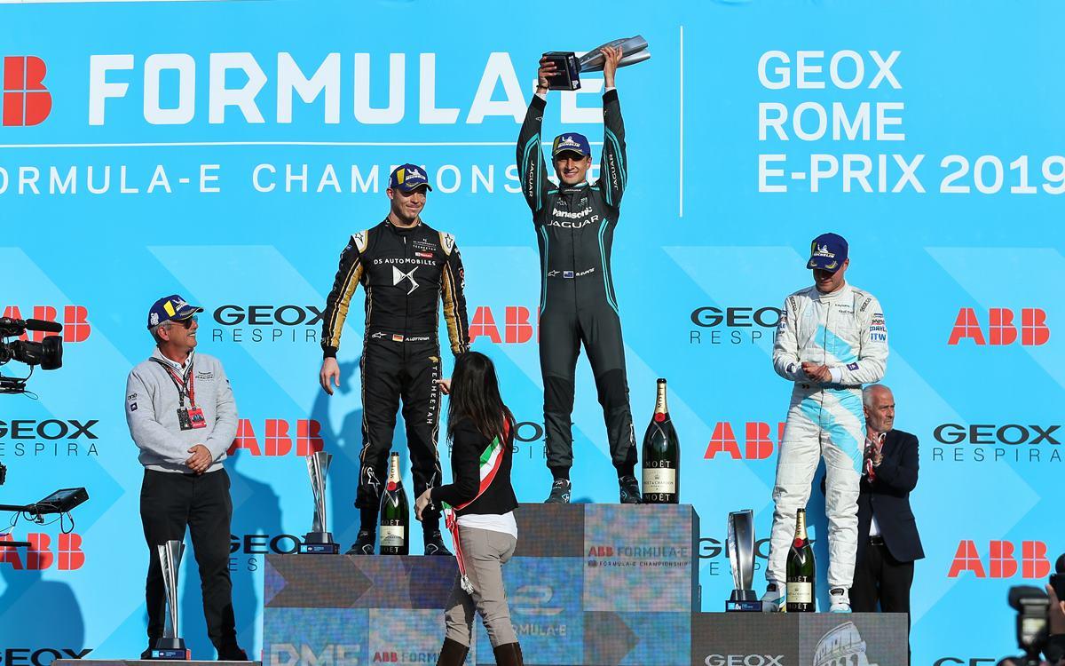 Mitch Evans le dio a Jaguar su primer triunfo en Fórmula E