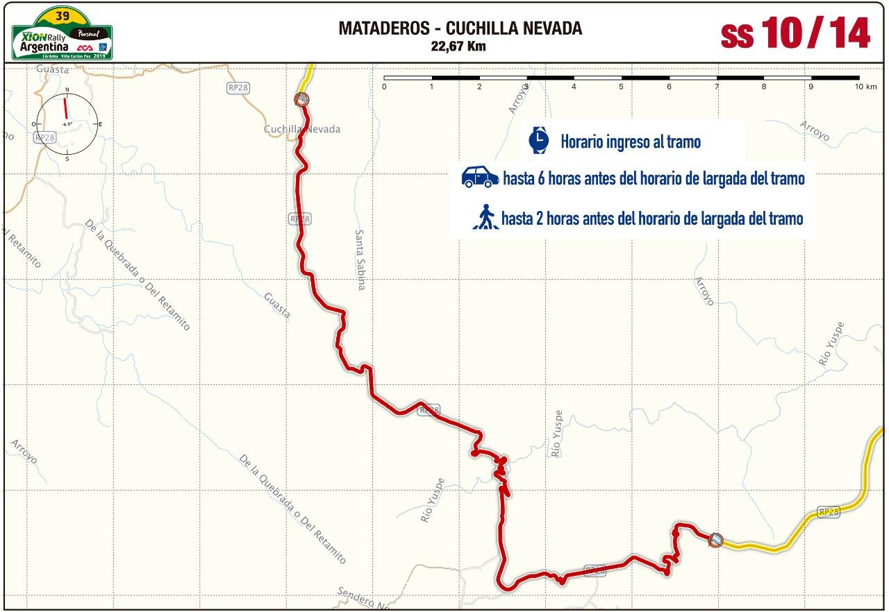 Así es la Etapa 2 del Rally de Argentina