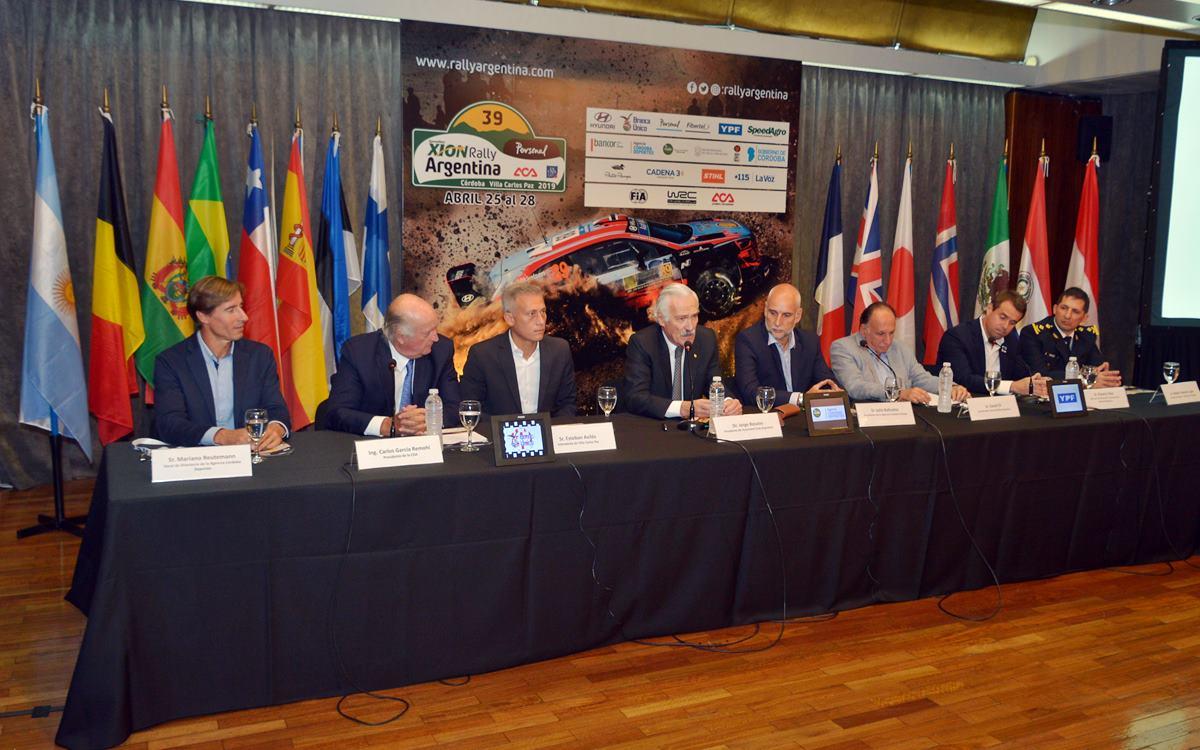 Cuenta regresiva para el 39º Rally de Argentina