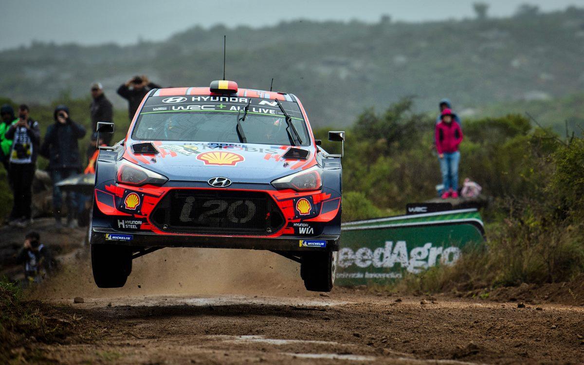 Thierry Neuville lidera el Rally de Argentina