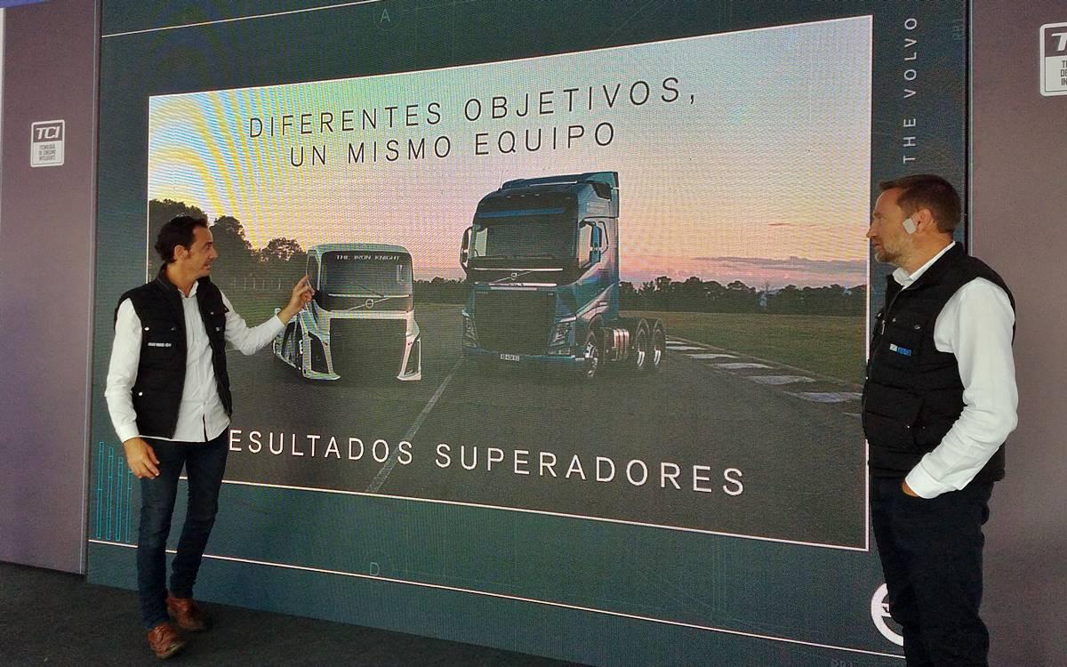 Una vuelta en el Volvo Iron Knight, el camión más rápido del mundo