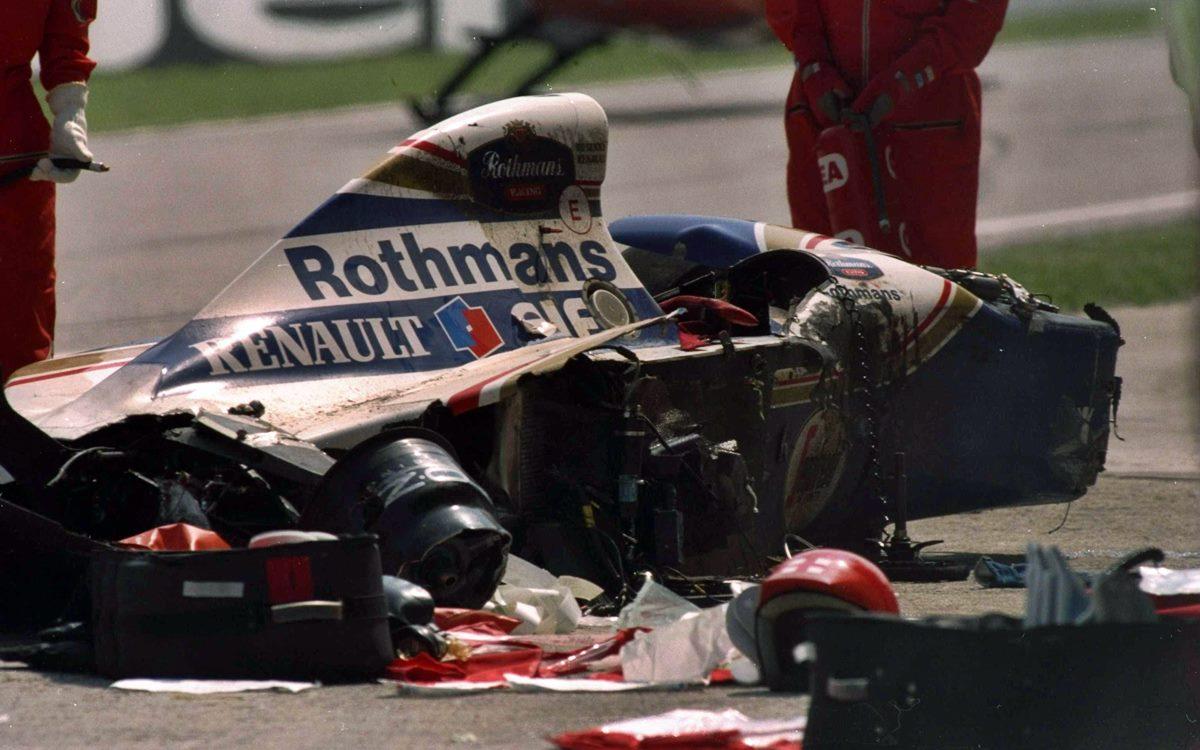 Así fue el accidente que le costó la vida a Ayrton Senna