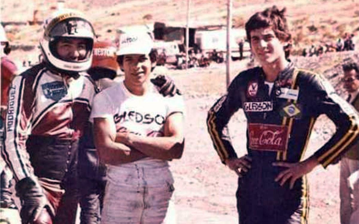 Así era Ayrton antes de ser Senna