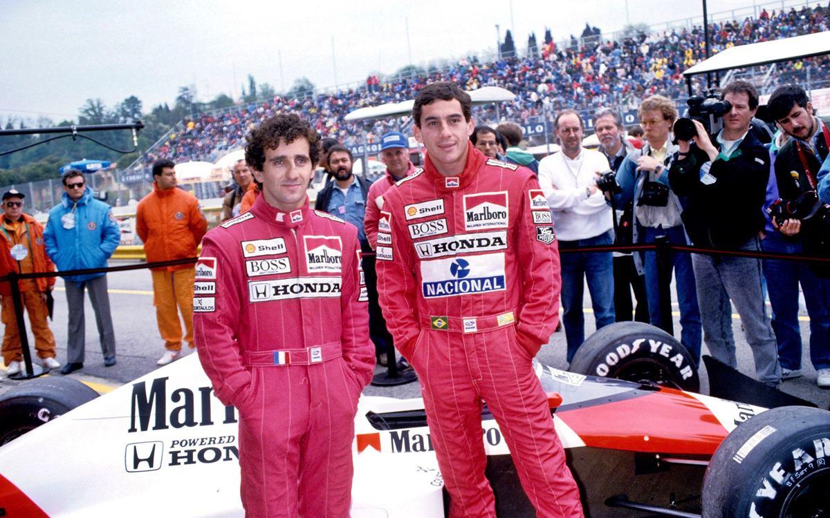 Ayrton Senna vs. Alain Prost: El duelo que paralizó a la Fórmula 1