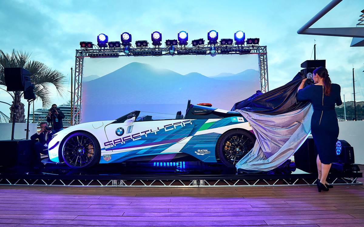 BMW i8 Roadster Safety Car: El bello AS de la Fórmula E