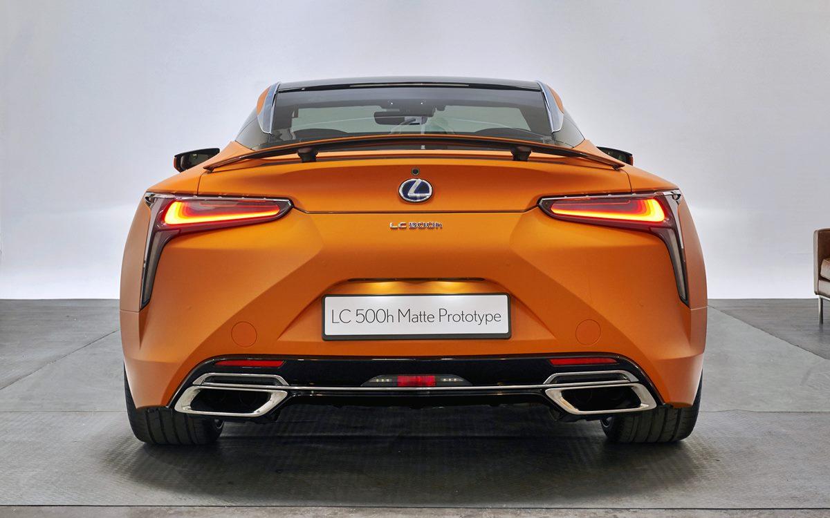 Lexus LC 500h Matte Prototype: Un homenaje al Sol…