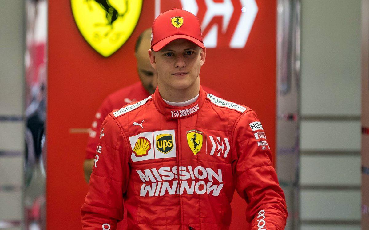 "Mick Schumacher: ""Mi objetivo es la Fórmula 1, pero debo ir paso a paso"""