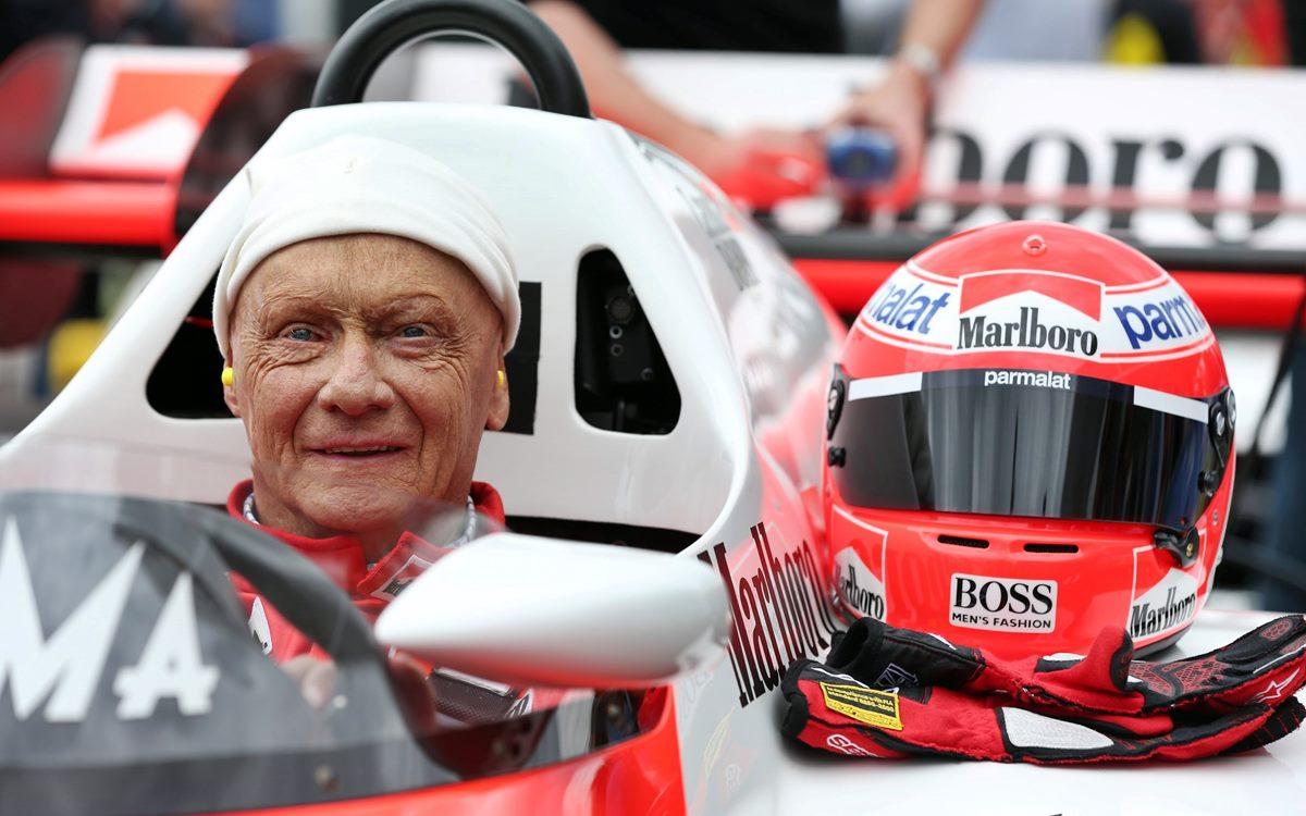 La F.1 lamenta la muerte de Niki Lauda