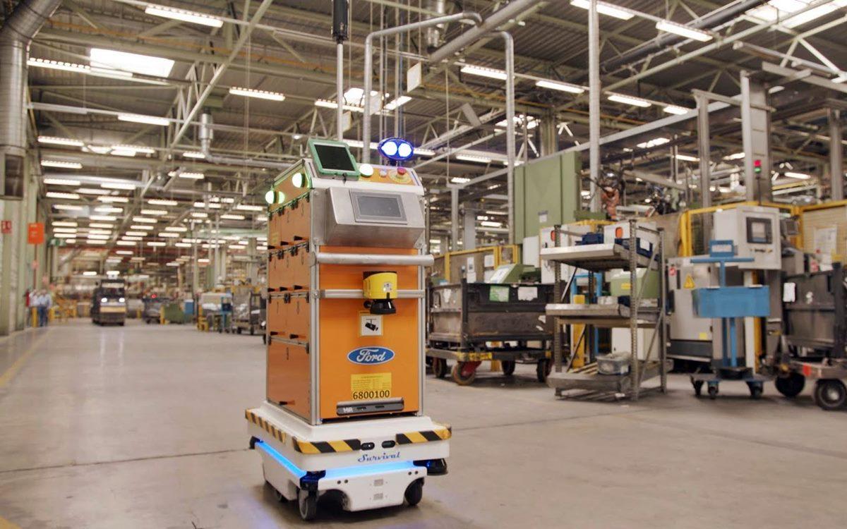Survival, el robot con tecnología de conducción autónoma que trabaja para Ford