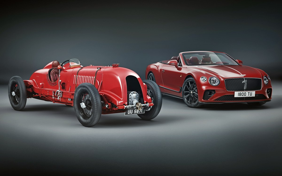 Continental GT Convertible Number 1 Edition by Mulliner