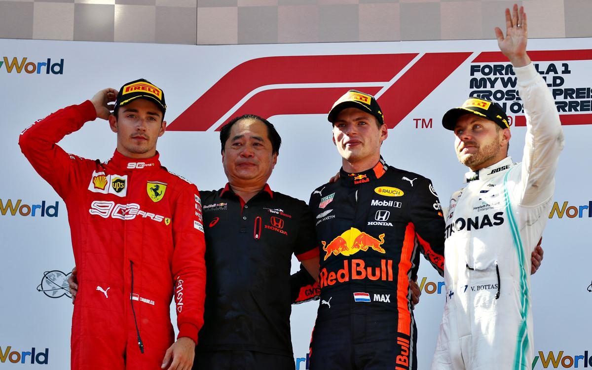 Épica victoria de Max Verstappen en el GP de Austria
