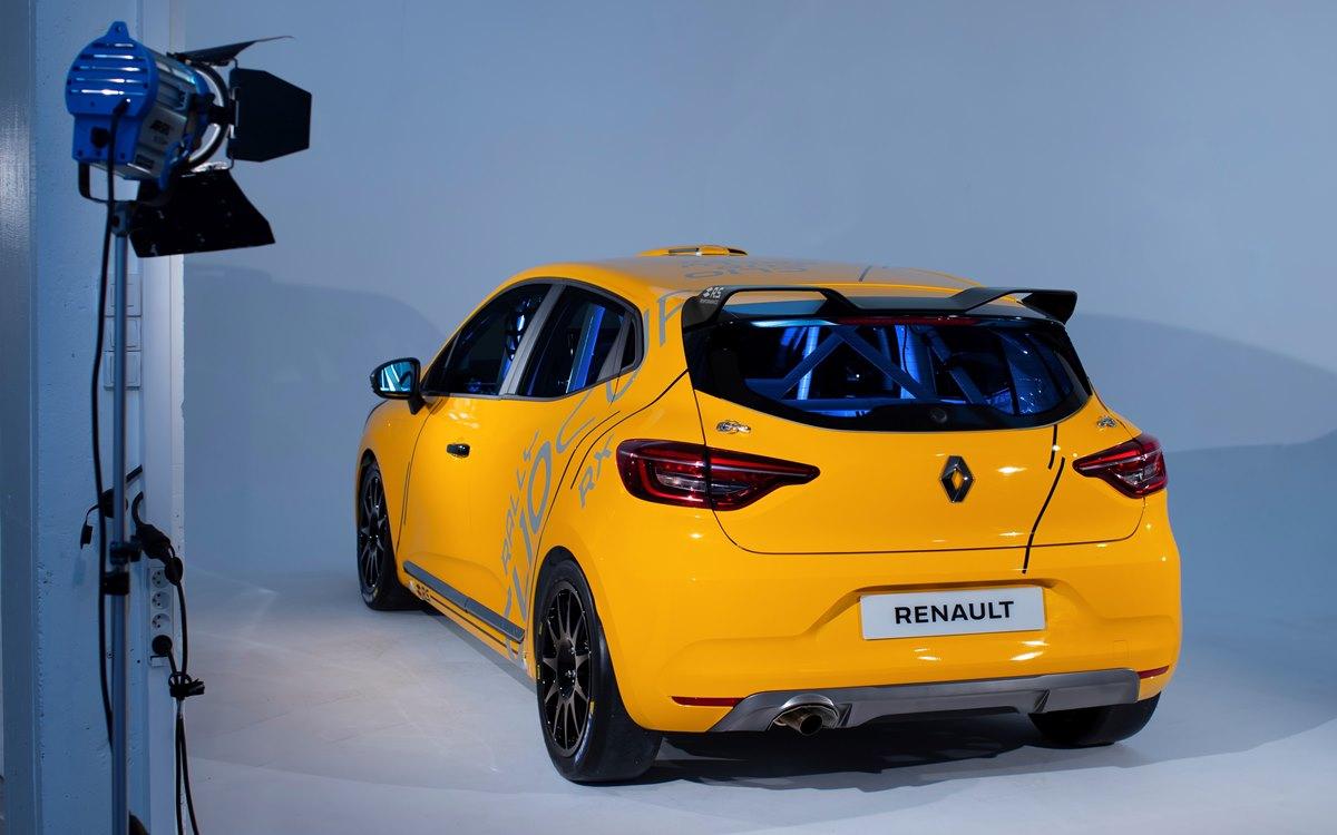 Renault Clio Sport Racing: Tres en uno