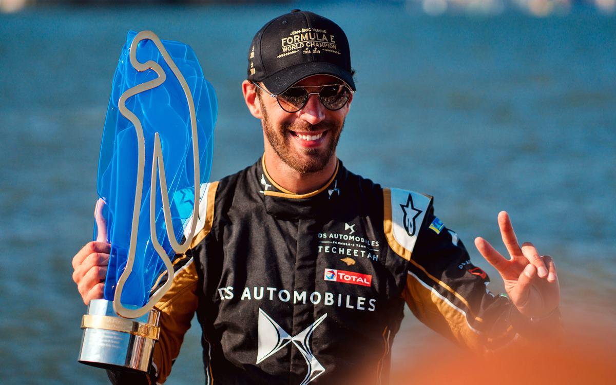 Jean-Eric Vergne, el primer bicampeón de la Fórmula E