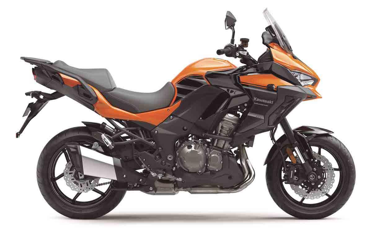 Kawasaki presentó sus nuevos modelos
