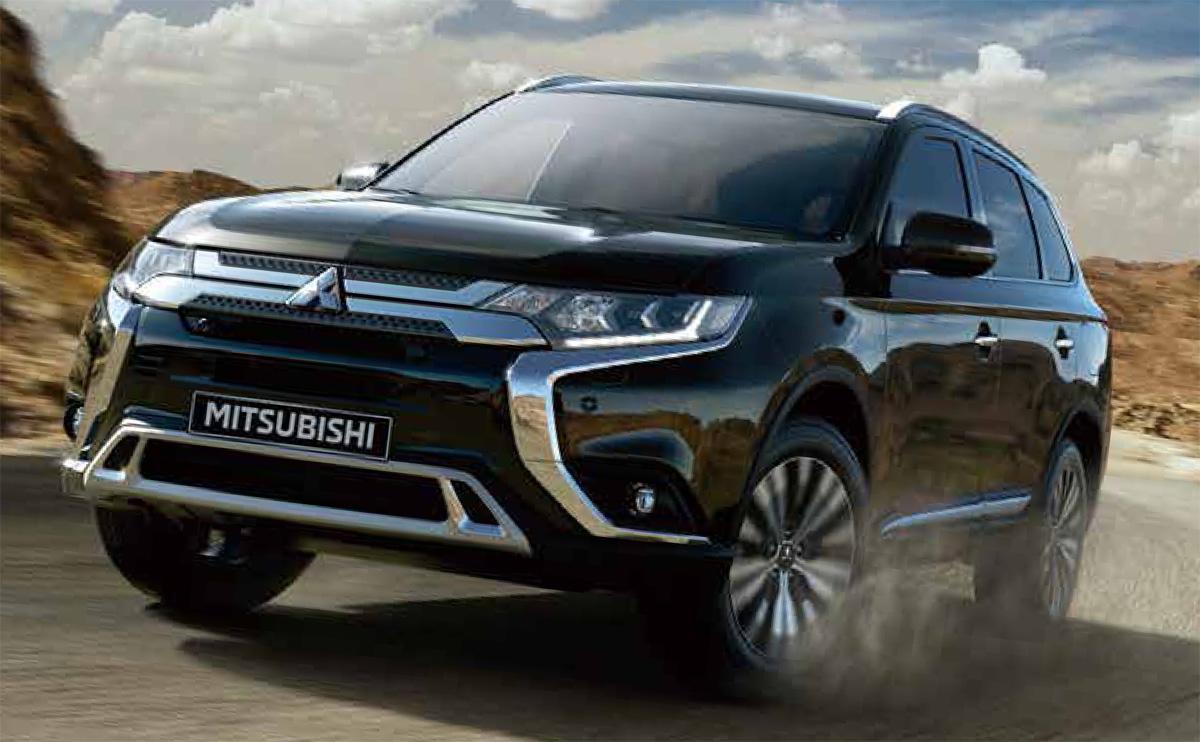 Mitsubishi con aires renovados