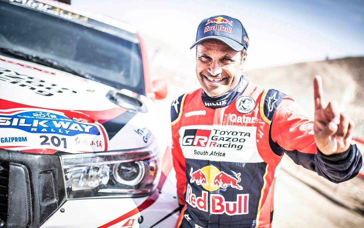 Silk Way Rally: Los Benavides en el Top 5