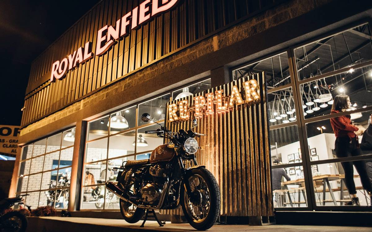 Royal Enfield abrió su segundo concesionario en el país