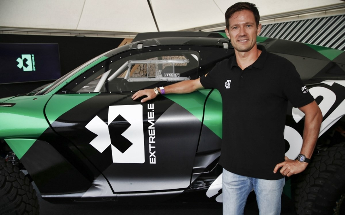 Sébastien Ogier, tester de lujo de la Extreme E