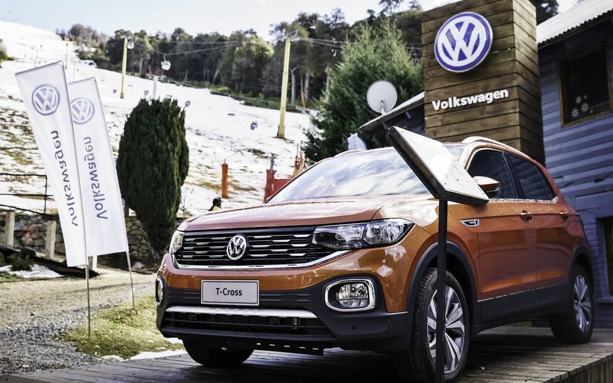 Volkswagen #VeryWhite en Cerro Bayo