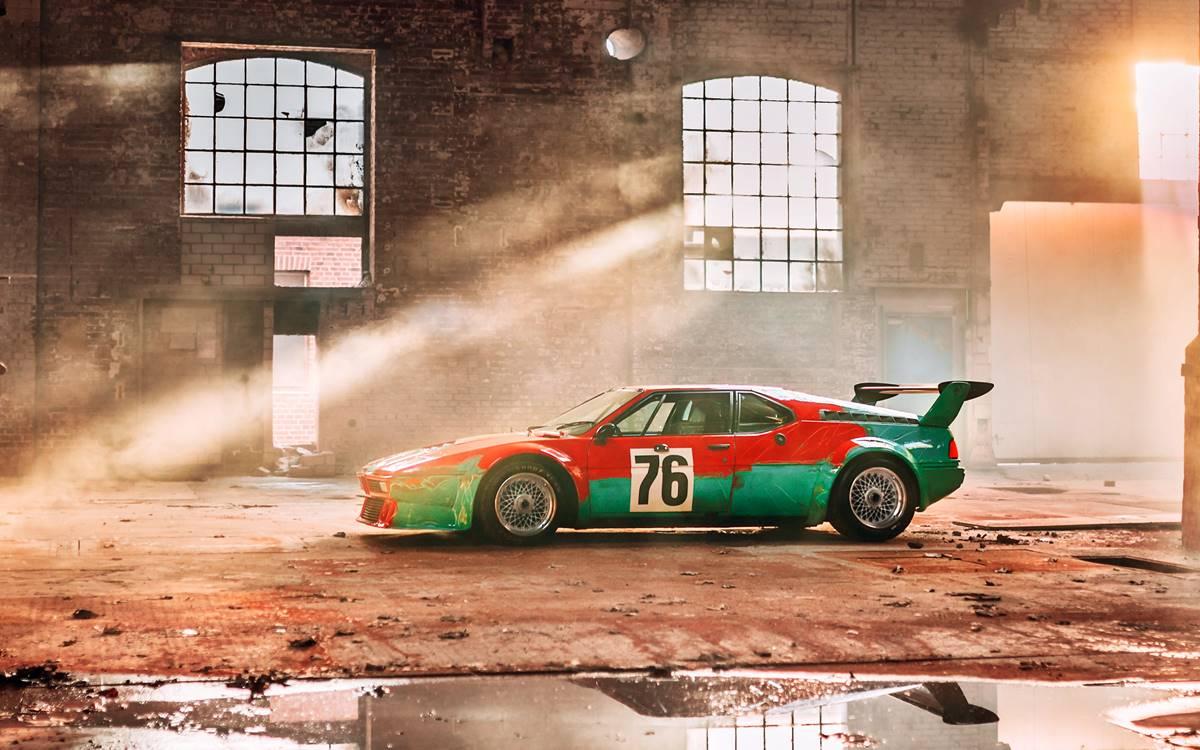 El BMW M1 Art Car de Andy Warhol cumple 40 años