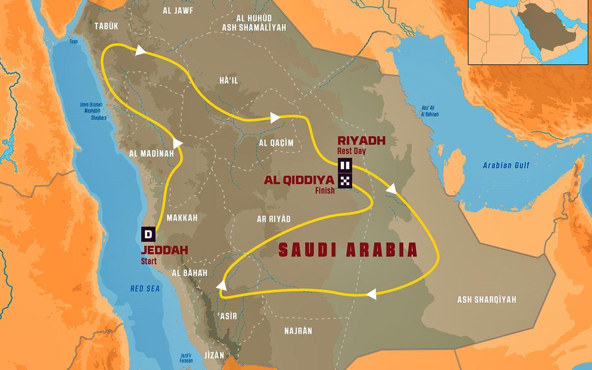 Dakar 2020 Arabia Saudita