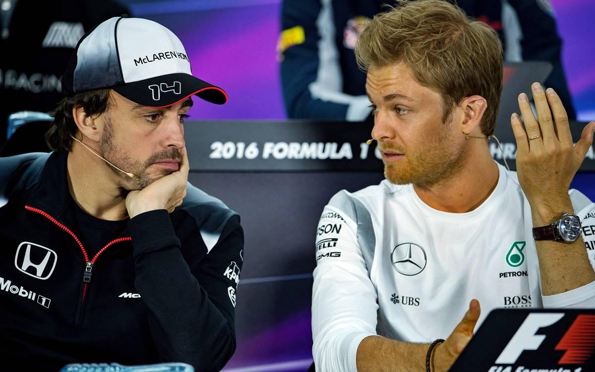 Nico Rosberg quiere ver a Fernando Alonso arriba de un Mercedes