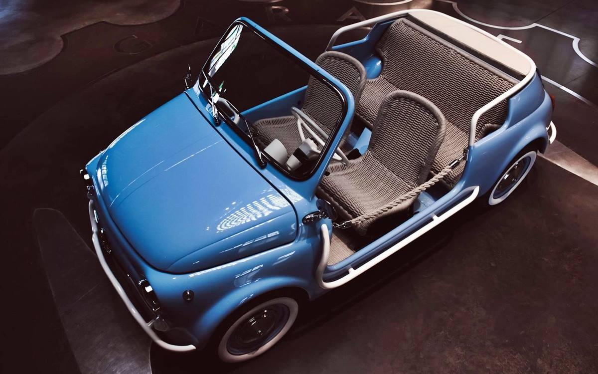 Fiat 500 Jolly Spiaggina Icon-e: Un clásico actualizado