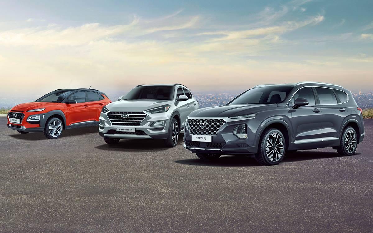 Los Hyundai Kona, Tucson y Santa Fe logran máxima calificación en seguridad de NHTSA