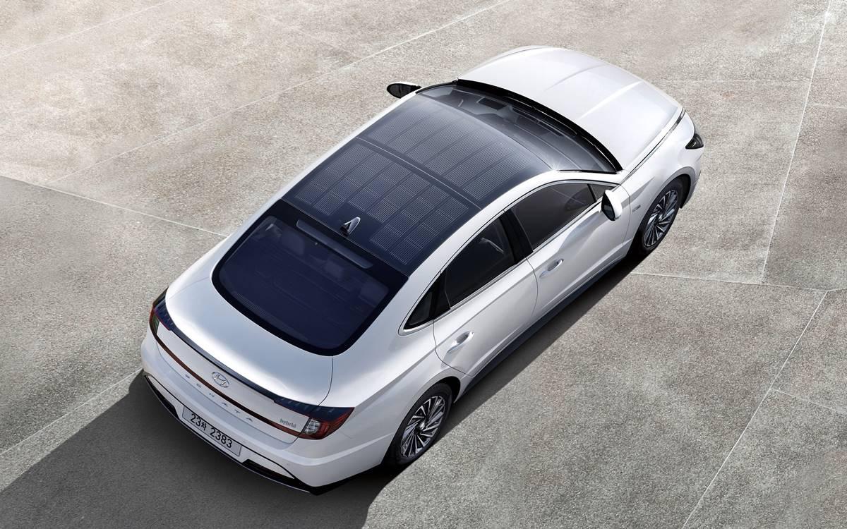 Hyundai Sonata Hybrid: Con el sol como aliado