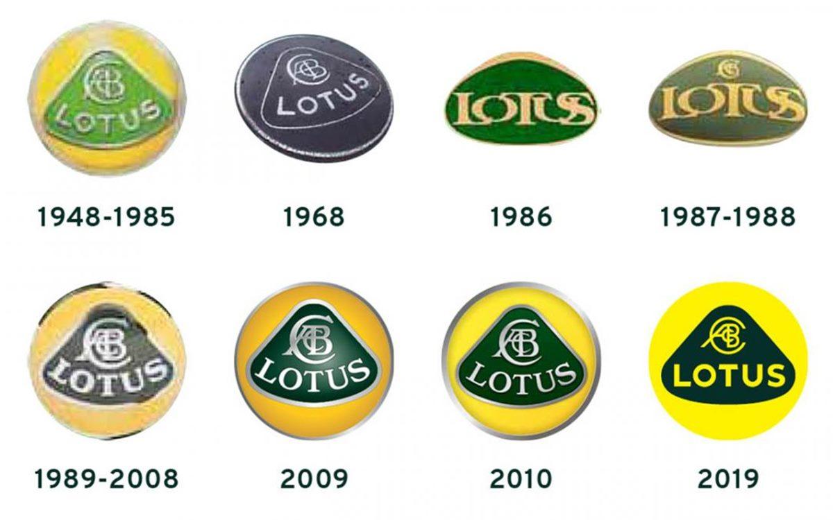 Lotus renovó su emblema