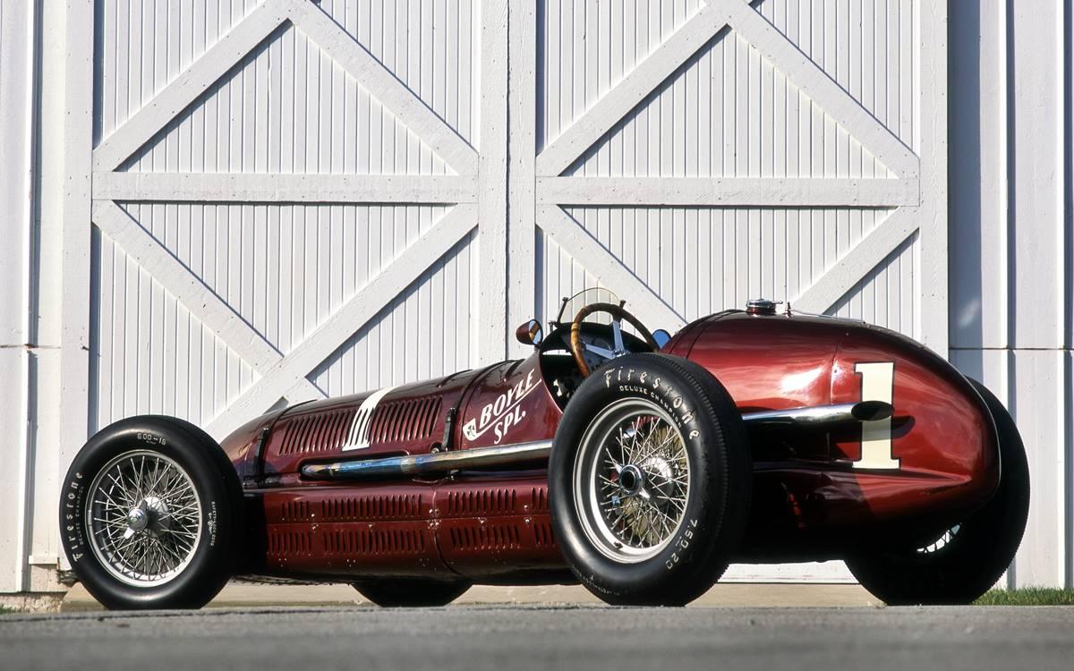 Maserati 8CTF: Un sueño americano