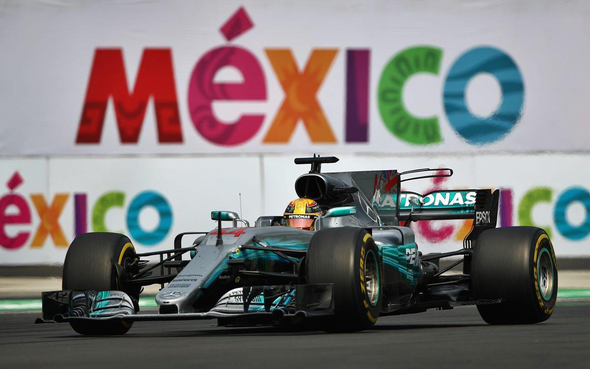 La F.1 se queda en México