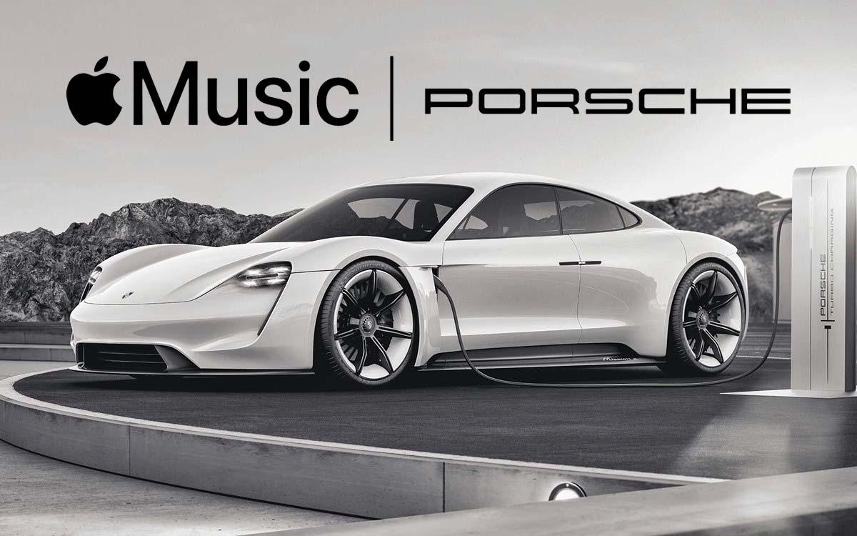 El Porsche Taycan incluirá Apple Music