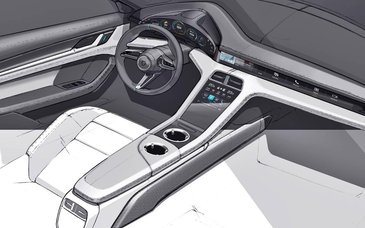 Porsche Taycan: Así es su interior