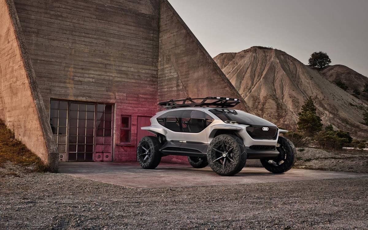 Audi AI:TRAIL quattro: El todoterreno del futuro