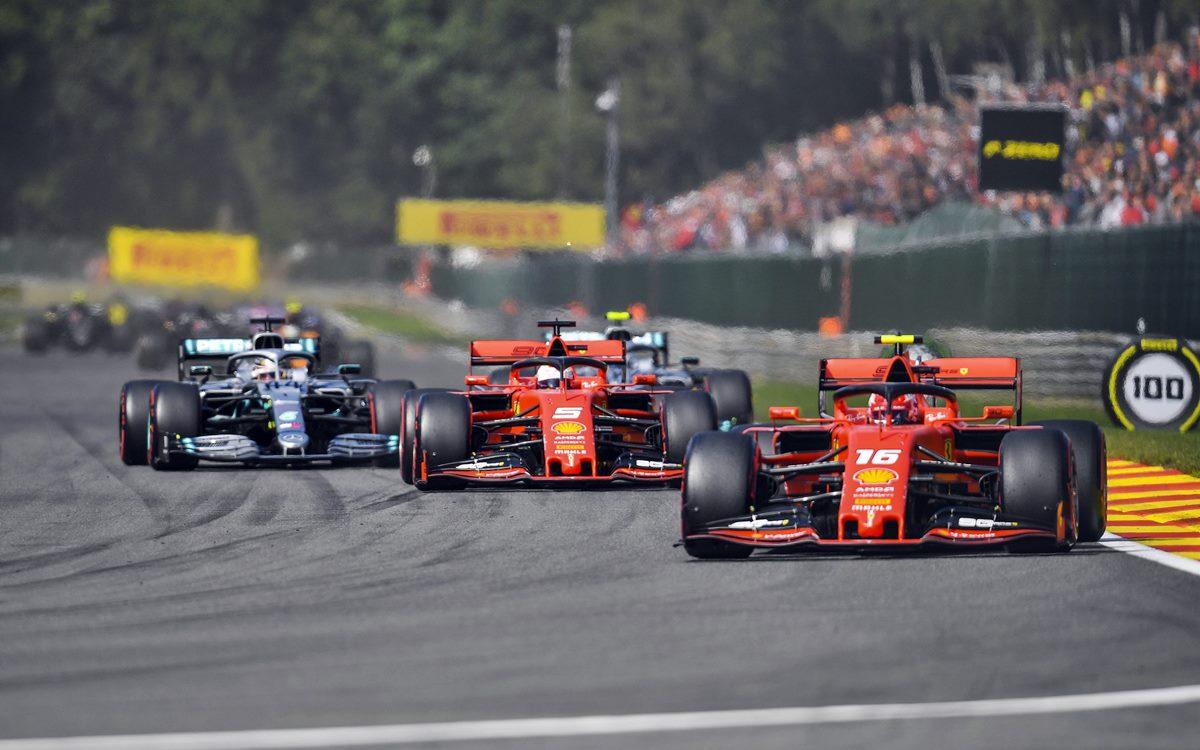 Charles Leclerc ganó el GP de Bélgica y se lo dedicó a Anthoine Hubert