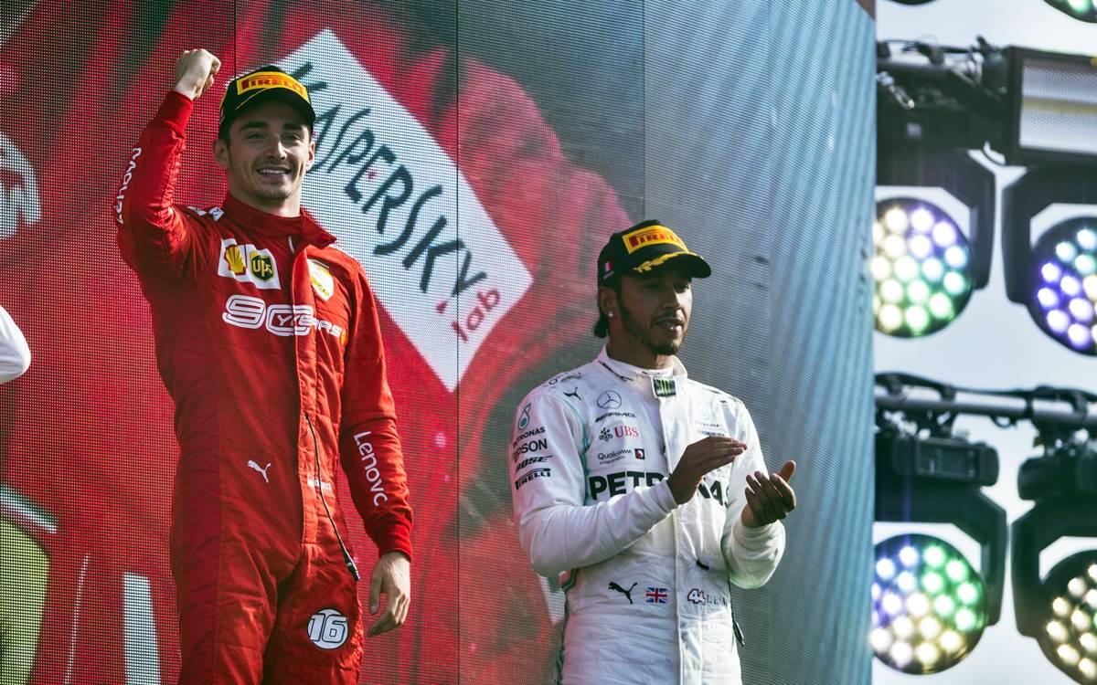 El emotivo mensaje de Lewis Hamilton a Charles Leclerc