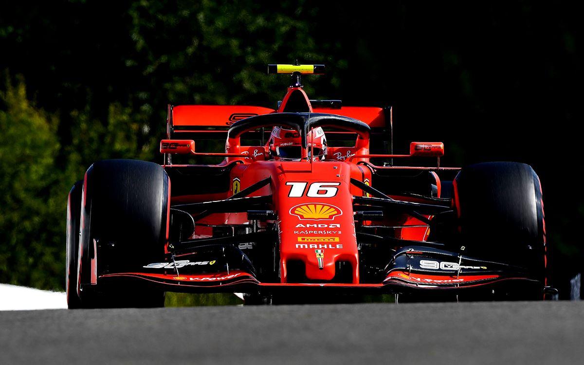 Charles Leclerc gana el GP de Bélgica