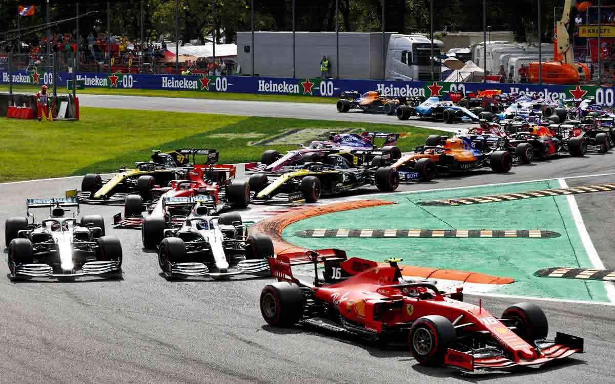 Charles Leclerc se recibió de ídolo de Ferrari con su gran triunfo en el GP de Italia