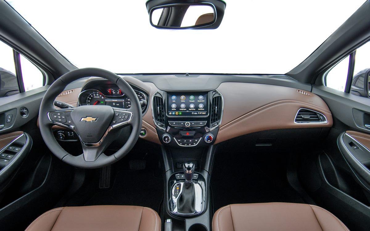 El Chevrolet Cruze Premier con Wi-Fi comienza a comercializarse en el país