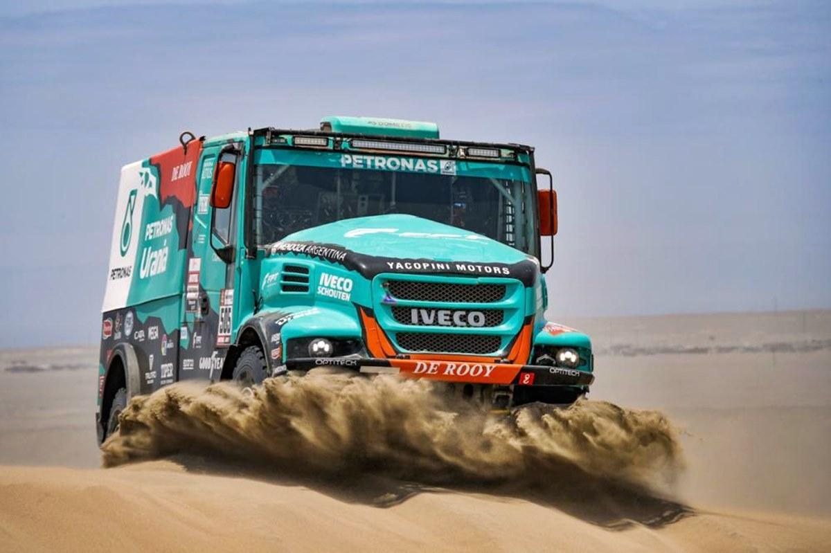 Federico Villagra baja del Dakar 2020