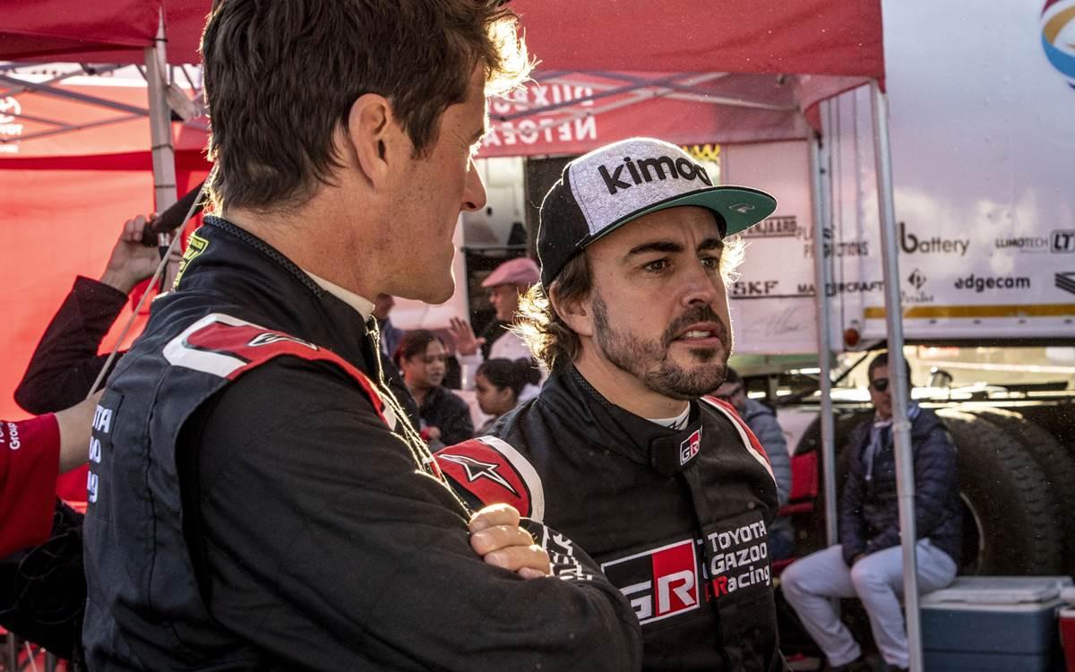 Fernando Alonso cada vez más dakariano