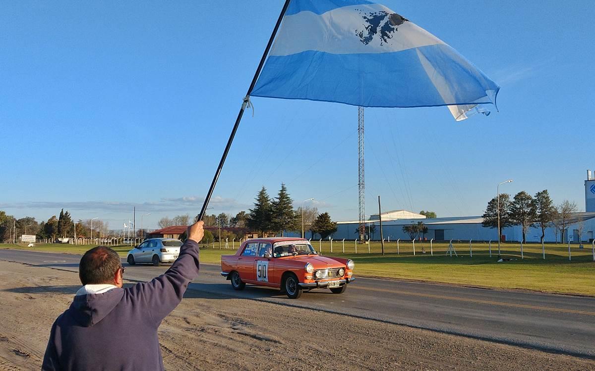 El Gran Premio Argentino Histórico desde la ruta