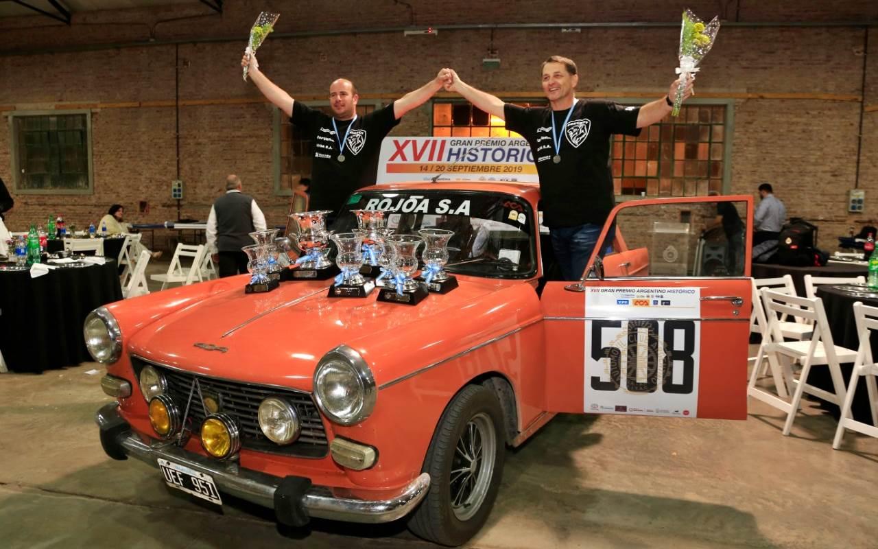 Gran Premio Argentino Histórico: Vergagni-Sorrentino, ganadores primerizos