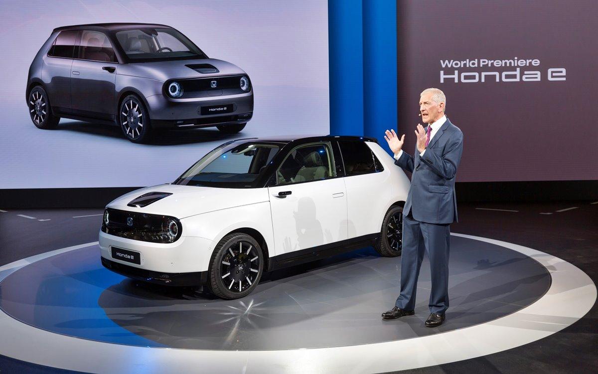 Honda e: Las primeras unidades llegarán a mediados de 2020