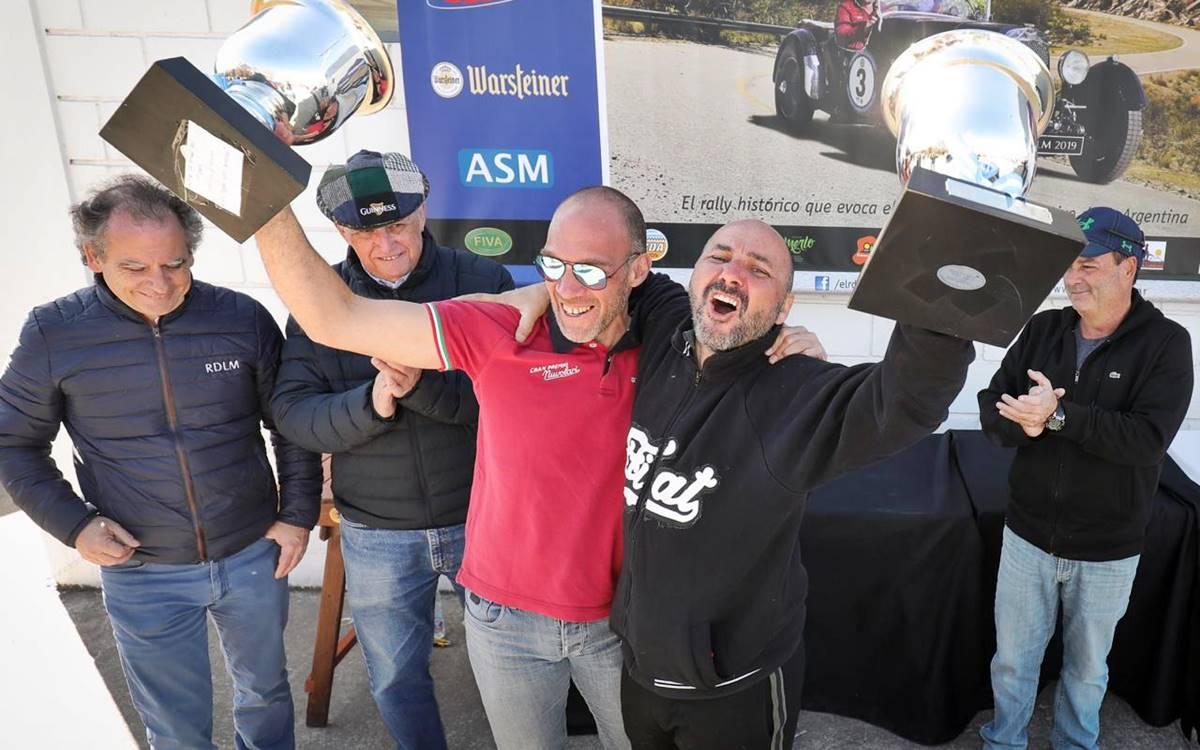Erejomovich-Llanos ganaron el 14ª Rally de la Montaña