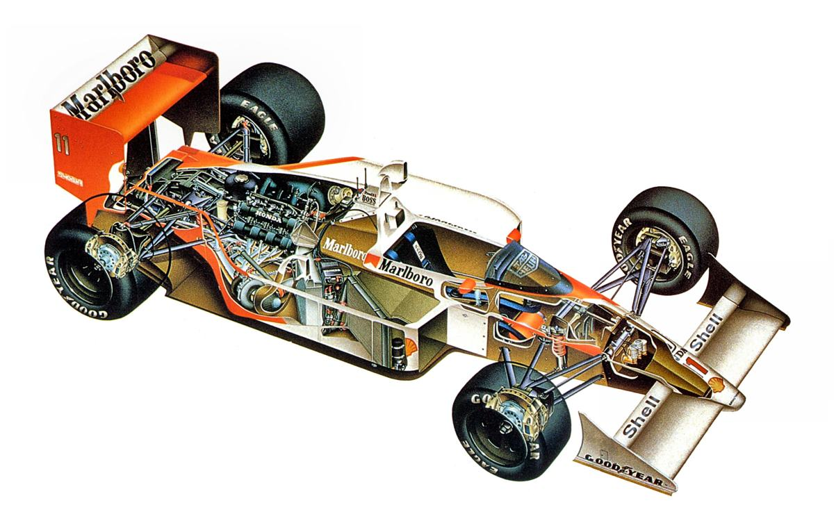 McLaren MP4/4-Honda: Un campeón imbatible