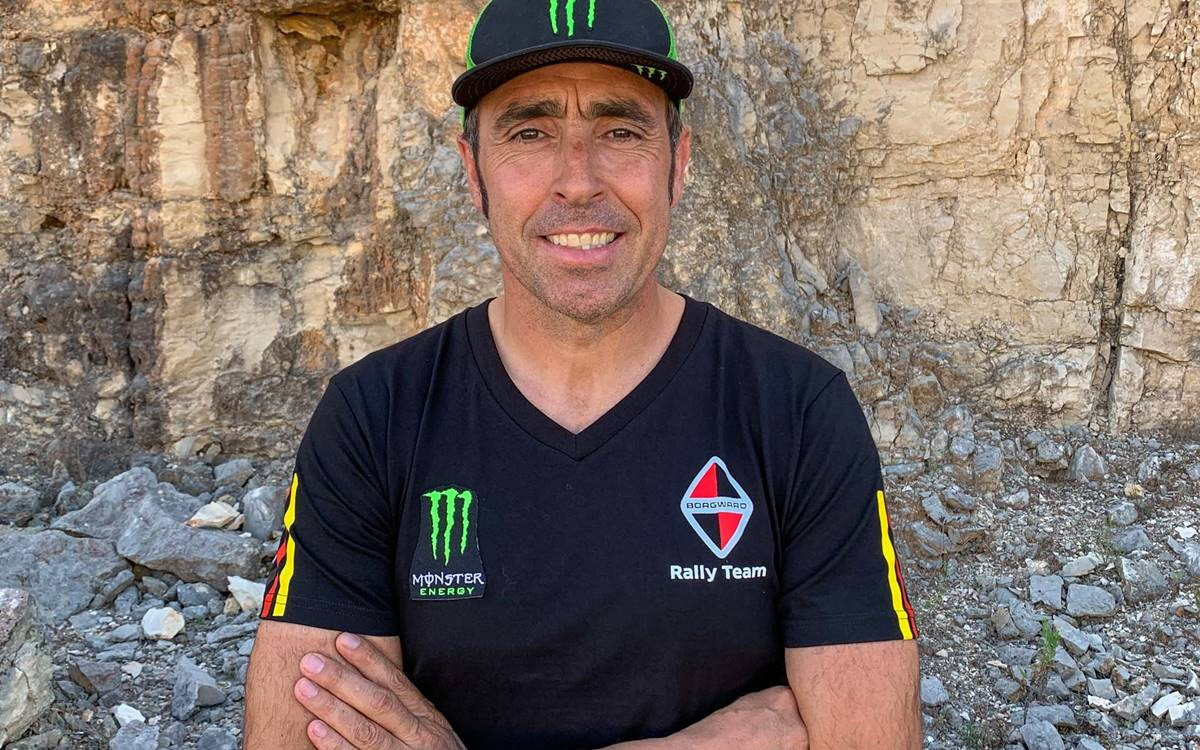 Nani Roma correrá el Dakar 2020 con el Borgward Rally Team